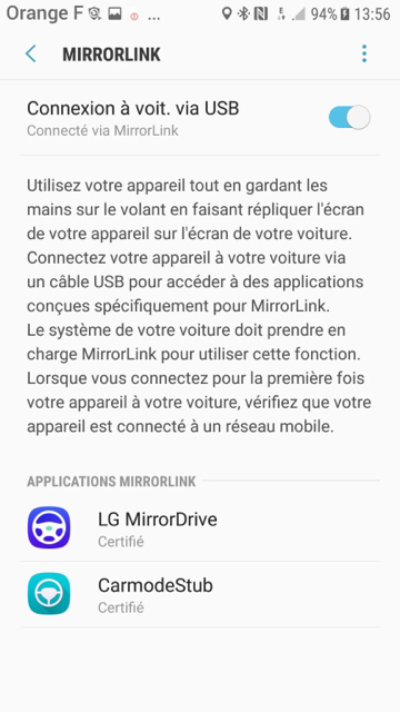Hybrid Assistant: MirrorLink