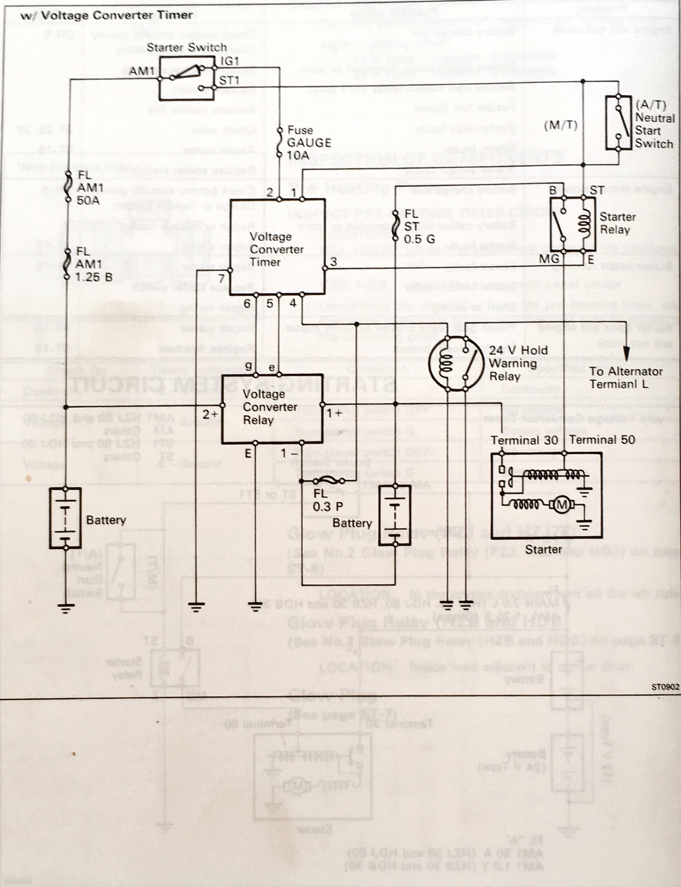 Starter Relay Wiring Diagram On 5 Wire Starter Relay Wiring Diagram