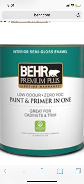 Tried some Behr last week - Paint Talk - Professional