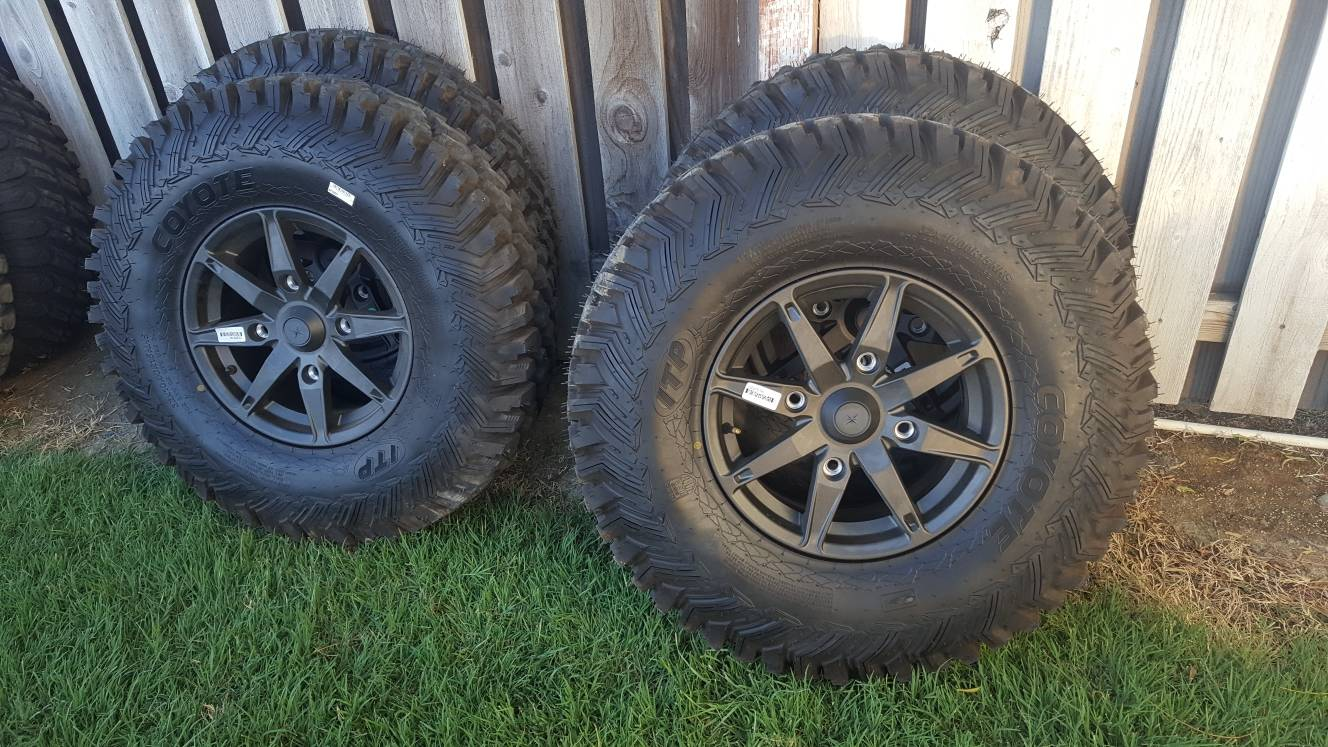 RZR Turbo S take off tires and wheels