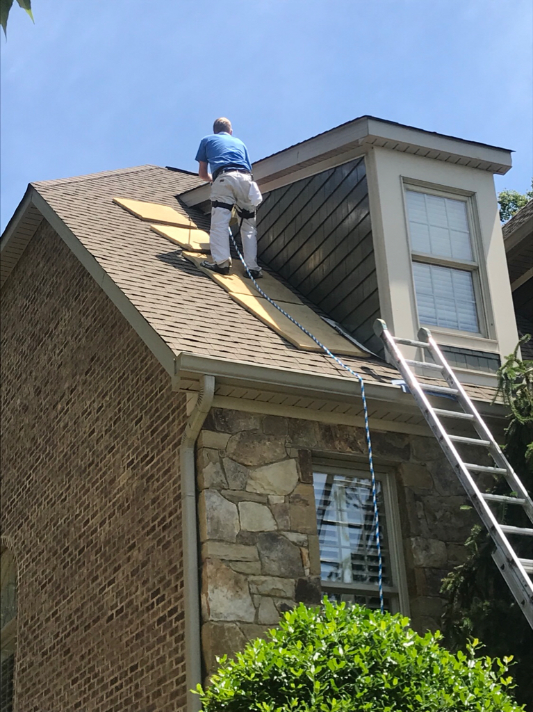 Harness For Roof Work Paint Talk Professional Painting