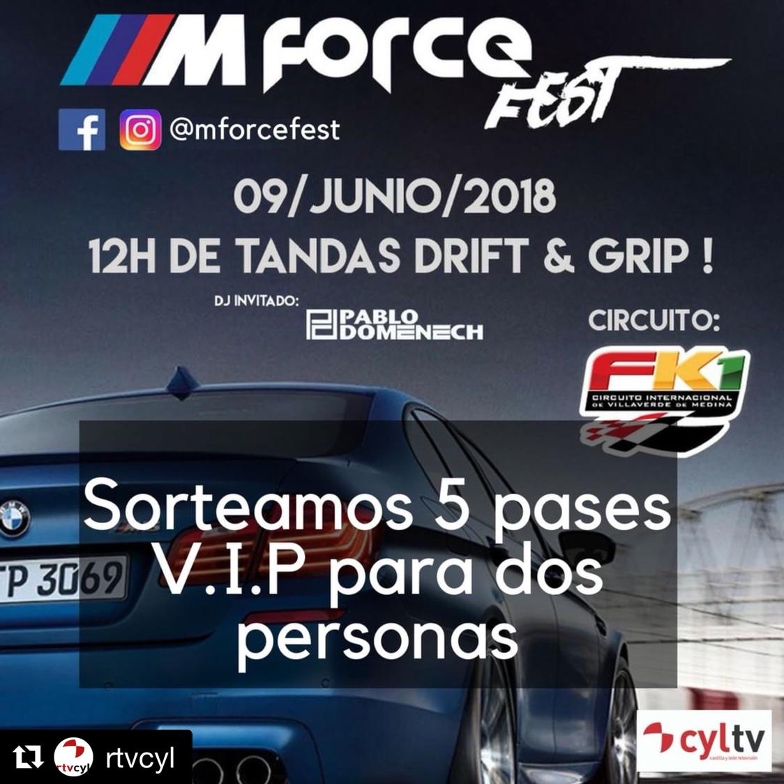 Circuito Fk1 : Noticia m force fest 2018@ fk1 villaverde de medina bmw faq club