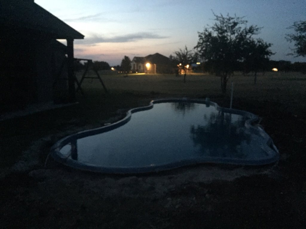 New Fiberglass Pool Owner Page 2