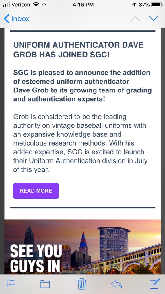SGC & Dave Grob - Net54baseball.com Forums