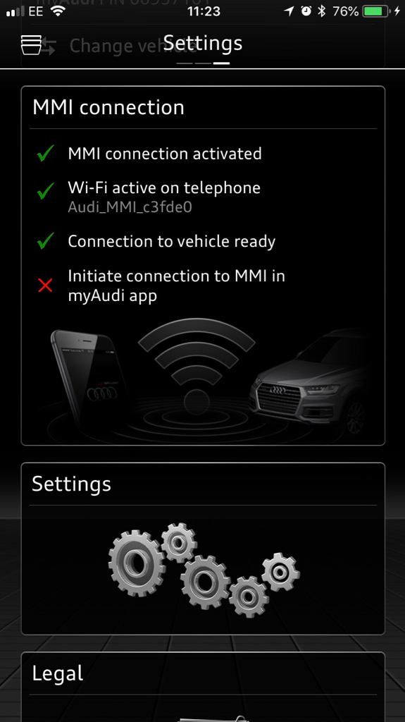 MMI And Audi Connect - Audi connection