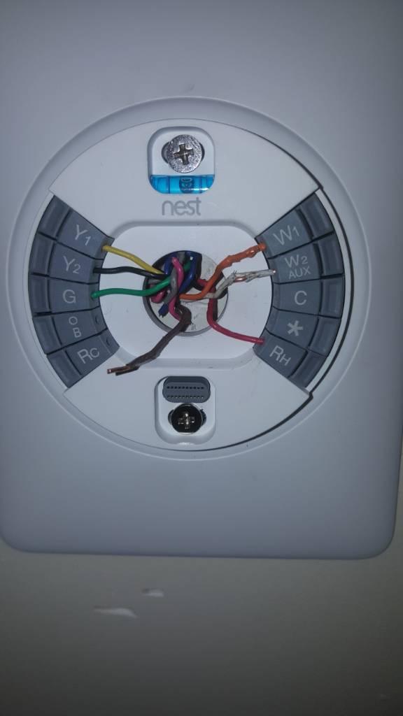 Nest Thermostat Gen 3 Wiring - Electrical