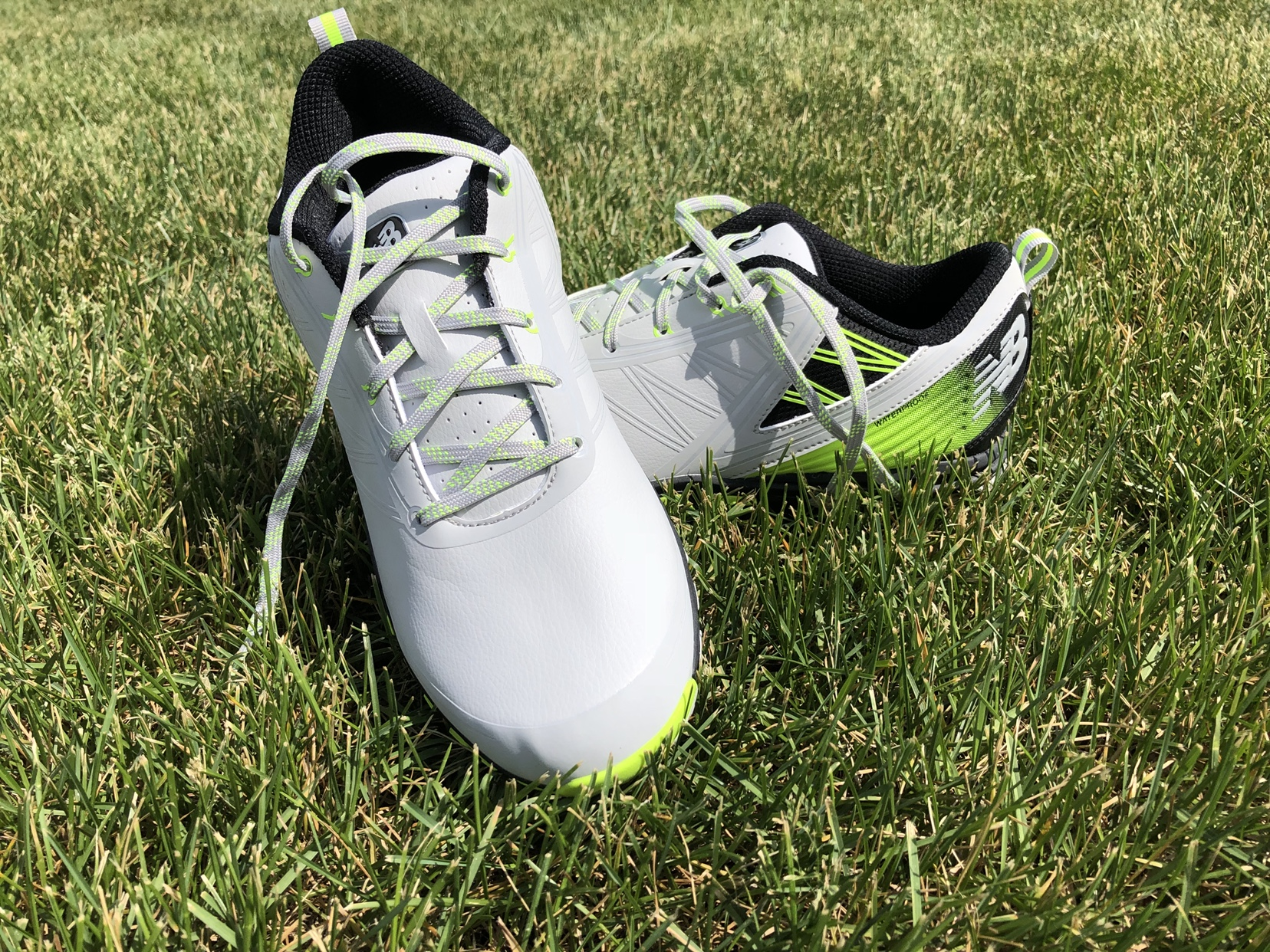 cd4057891565a I went and compared how heavy they feel to a couple other spikeless shoes I  own and these are very similar if not even lighter than those other brands.