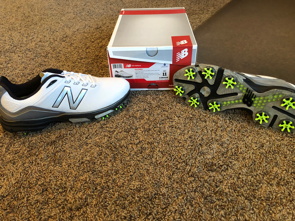 detailed look 21c02 1e54b FS Brand New Pair of New Balance NBG 3001 golf shoes