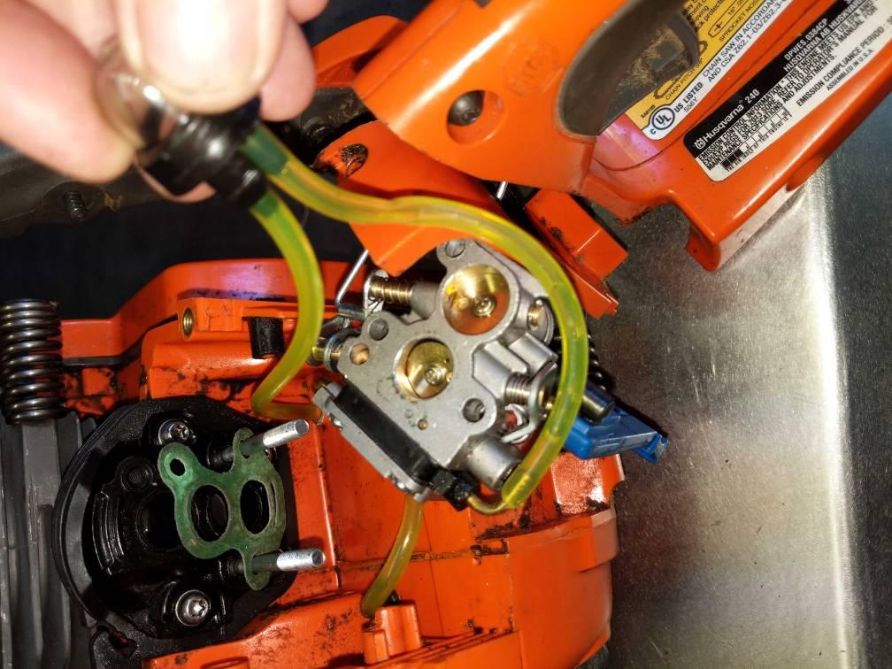Husqvarna 240 Fuel Lines And Primer Bulb