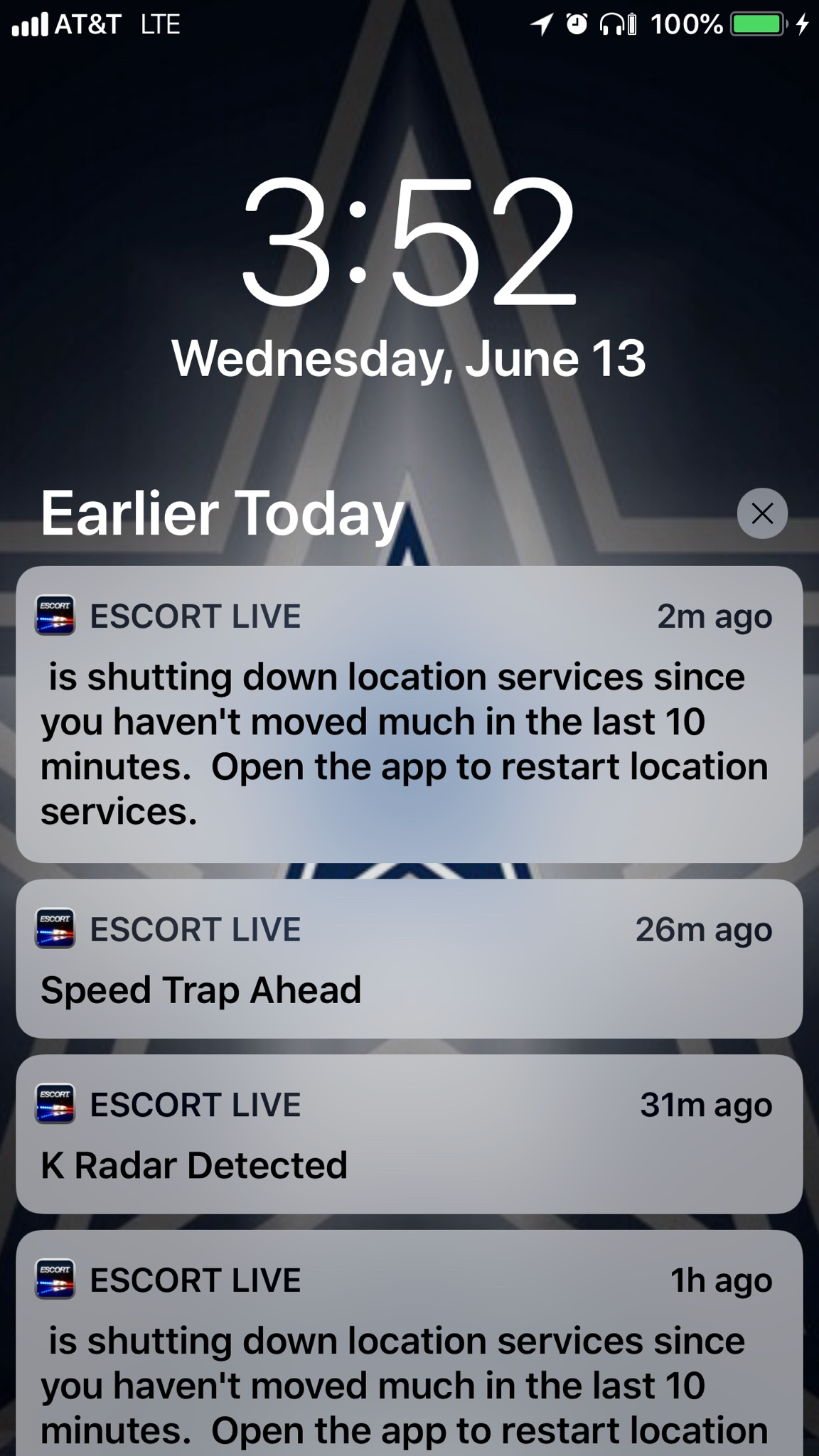 App shutting off its location service when you stop long