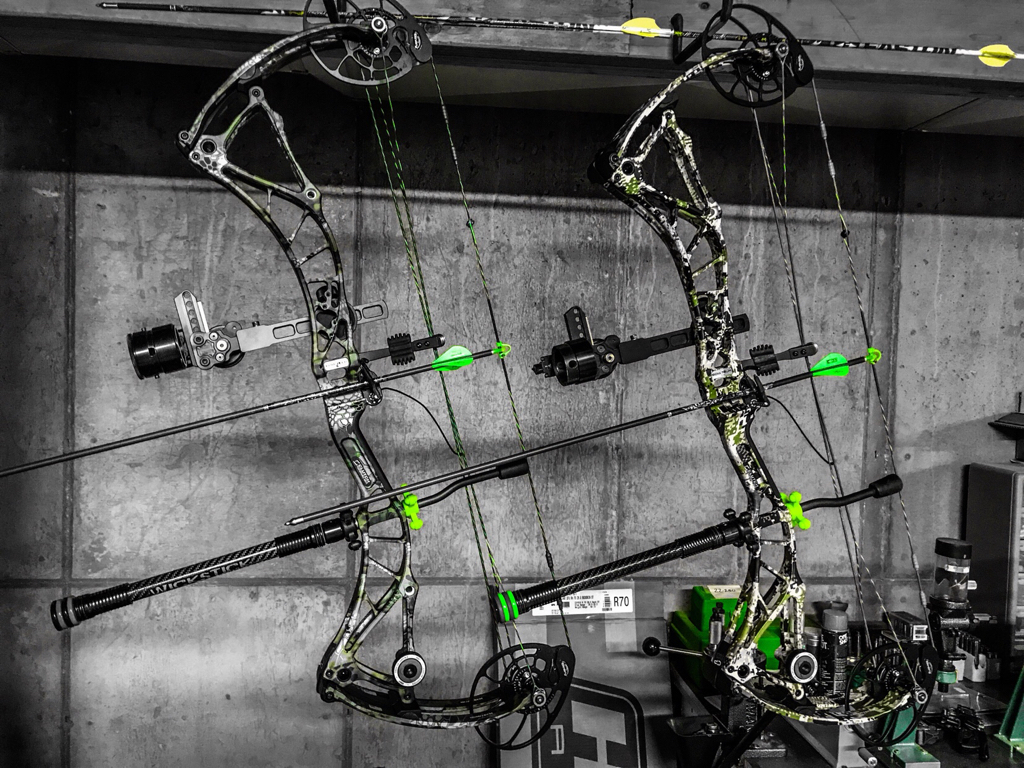 I thought I knew which bow I wanted   Now I'm on the fence
