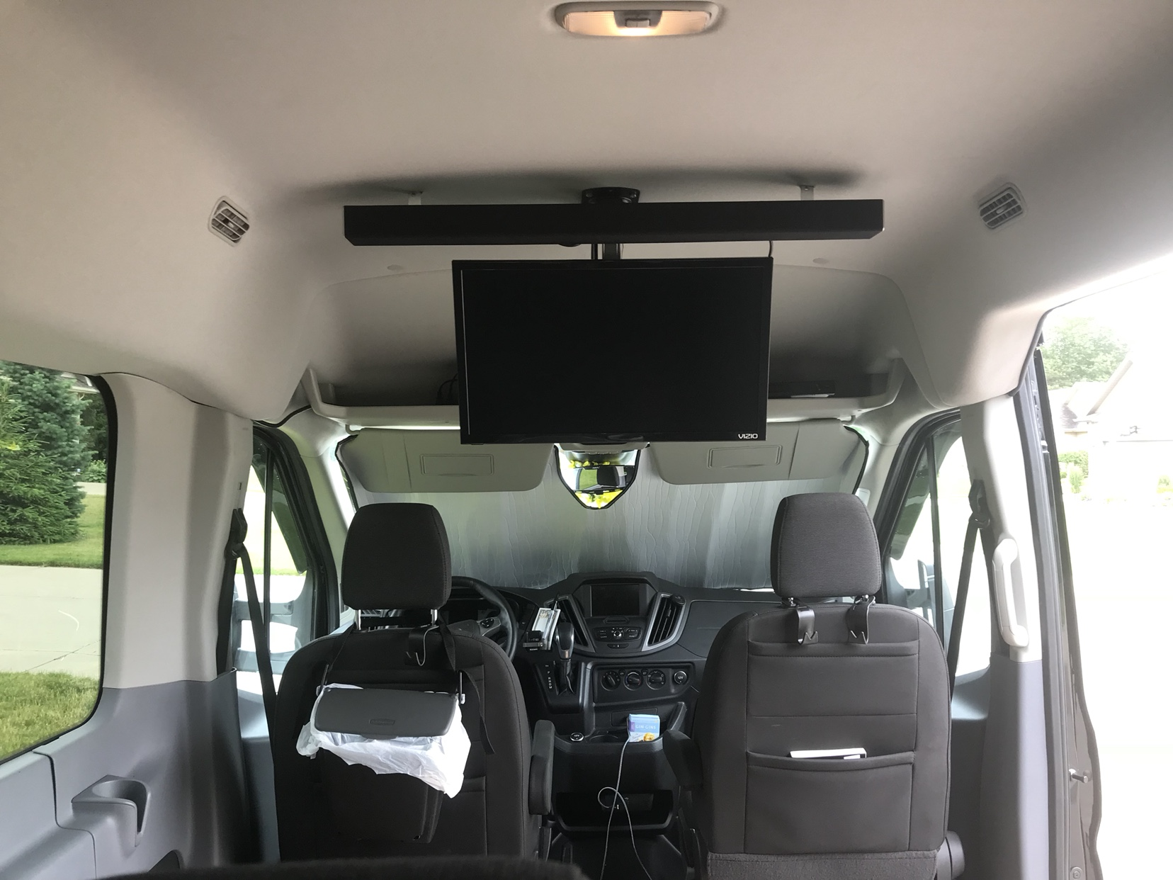 2017 Transit Passenger Wagon Tv Home Theater Install