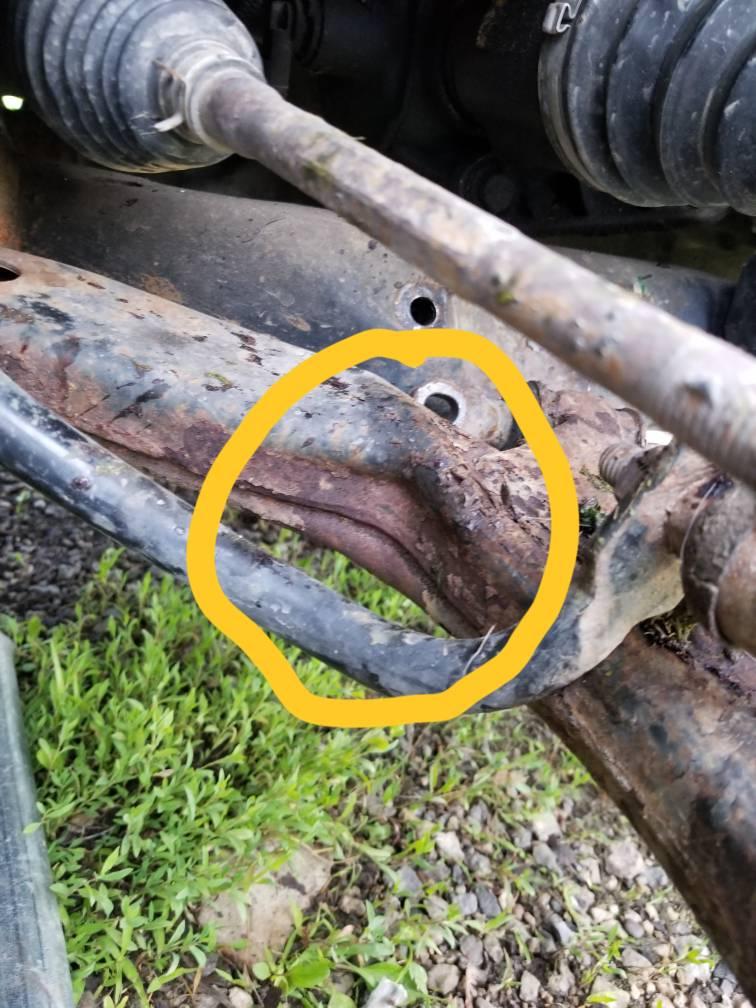 05 Chevy Cobalt (Lower Control arm bolt)