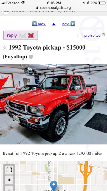 Seattle Craigslist WTF - Pirate4x4 Com : 4x4 and Off-Road Forum