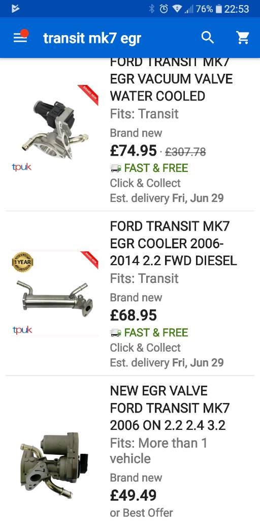 Ford Transit Forum • View topic - Water cooled EGR