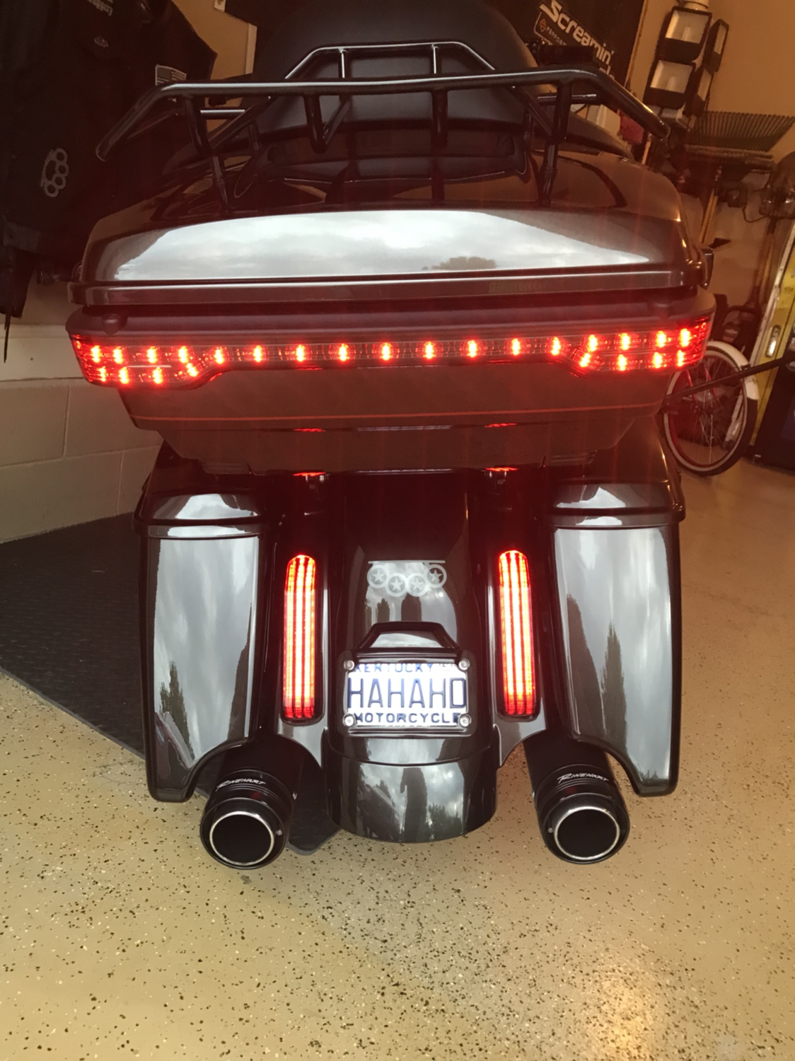 Adding LightBar to TourPak - Page 2 - Road Glide Forums on