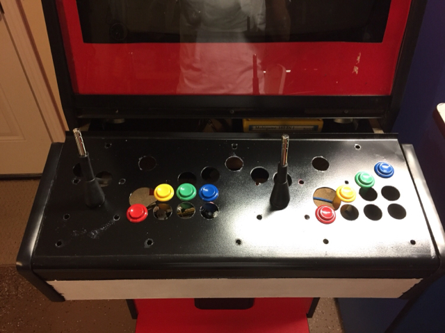 MVS conversion button layout opinions - KLOV/VAPS Coin-op Videogame