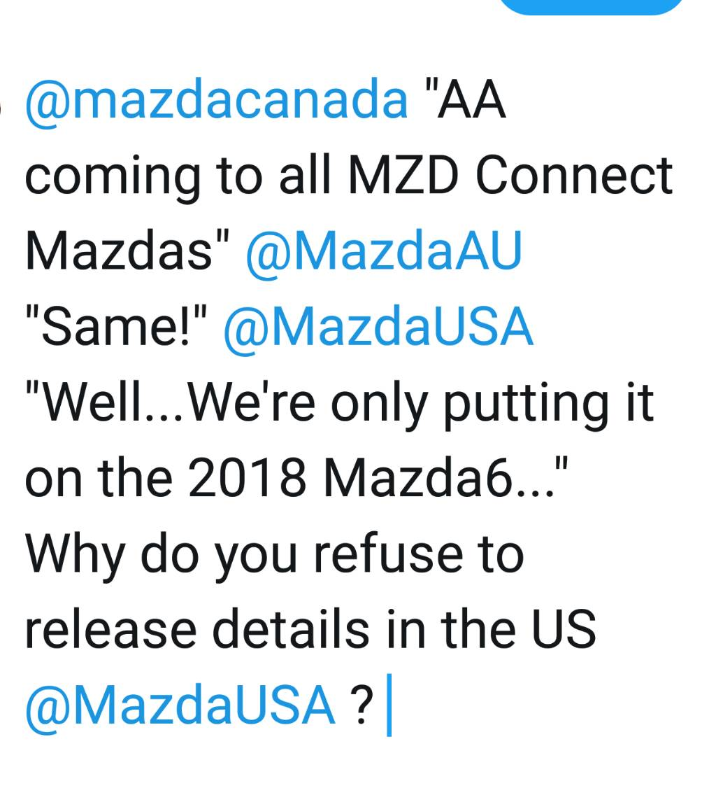 New AA \ ACP Thread (with Poll) [Archive] - Page 3 - Mazdas247