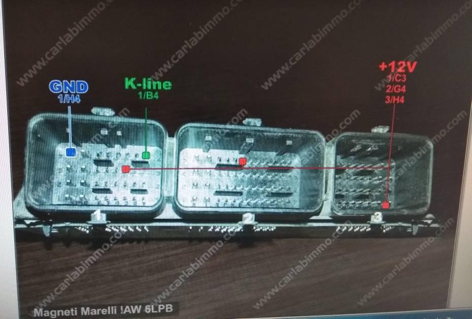 Pinout 6lp2 05 - Citroen C4 2007 - Mhh Auto