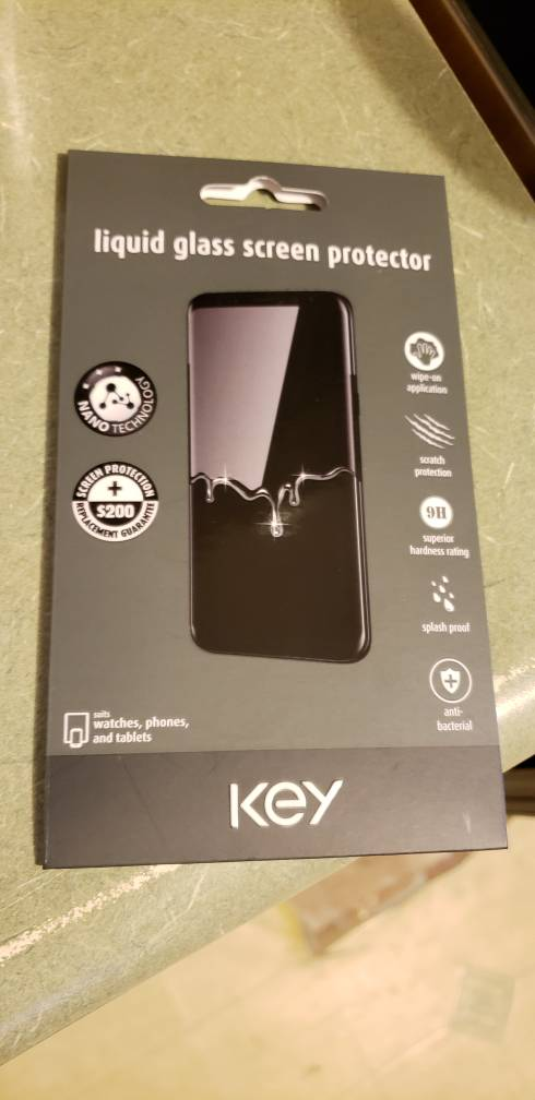 Paypal Mobile Card Reader >> WTS: Key liquid glass screen protector - Android Forums at AndroidCentral.com