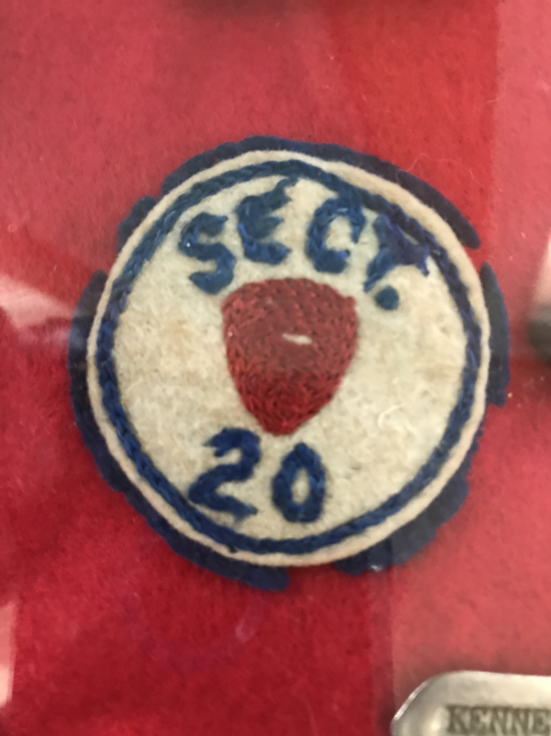 Sect  20 patch? Identification - ARMY AND USAAF - U S  Militaria Forum