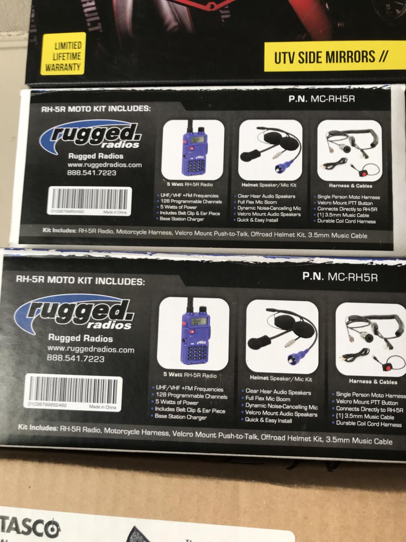 Brand new rugged radios moto kits - Polaris RZR Forum - RZR