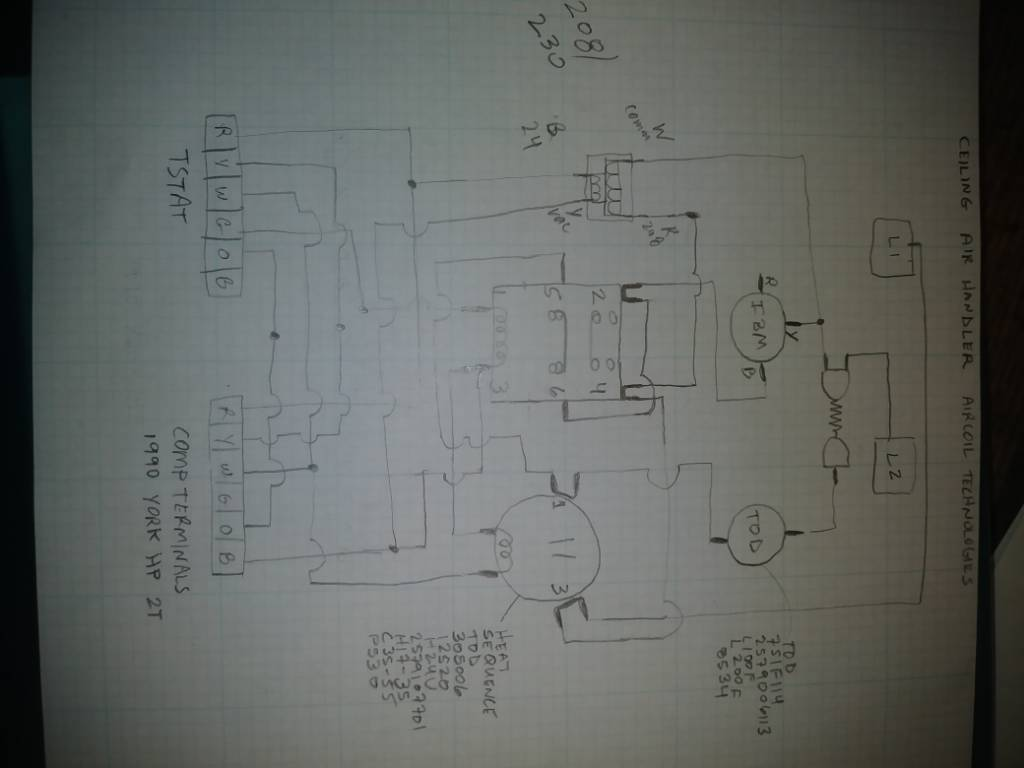 I Invented This Wiring Diagram Looking For Feedback Heat Pump Ladder Diagrams How To Finish The Before Hook It All Up And Turn On Just Want Get Some Any Tips Would Be Greatly Appreciated