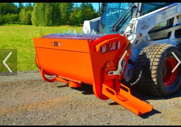 Home Build Skid Steer Concrete Mixer