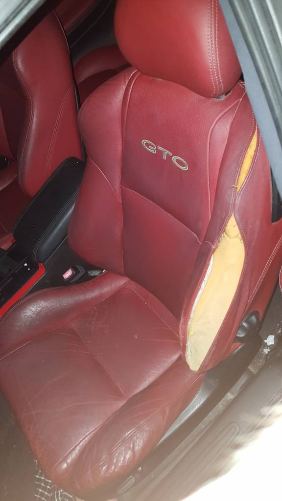 Red Leather Interior Repair Ls1gto Forums