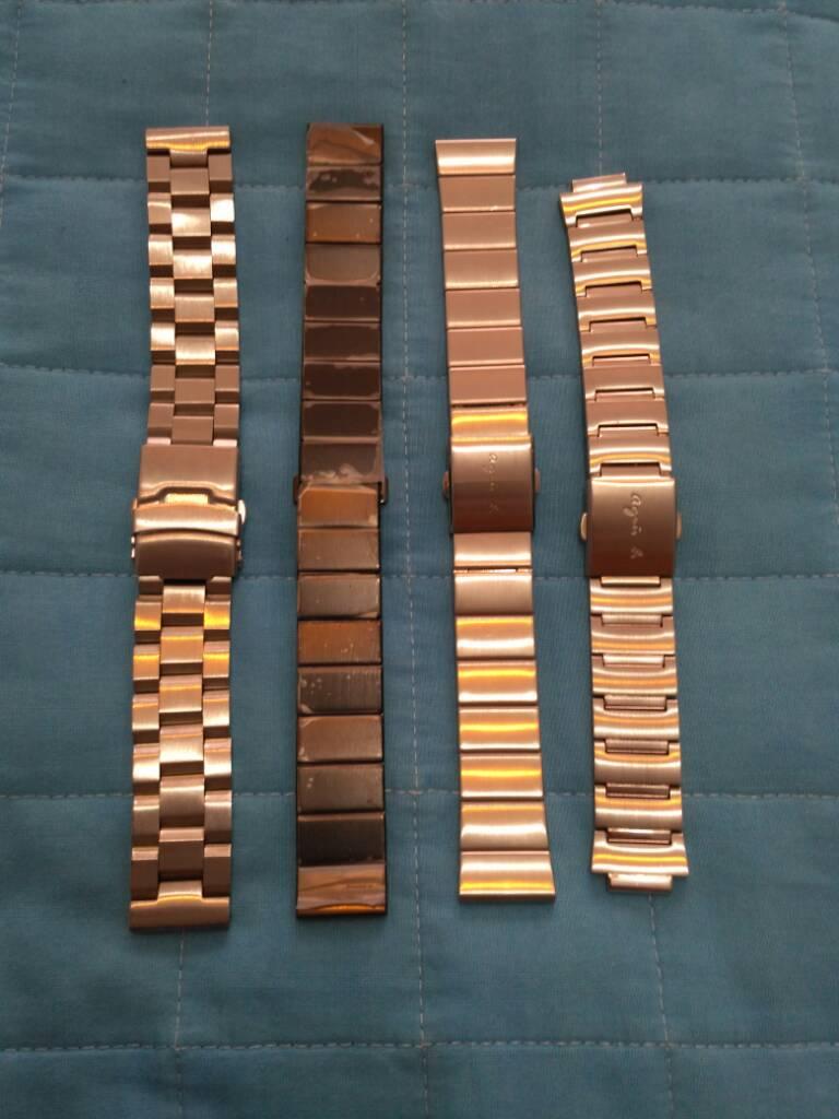 [Vendido] Conjunto de 24 braceletes (aço+pele+Nato) 4ab4669dbf8041b923bd37a8a99e20b0