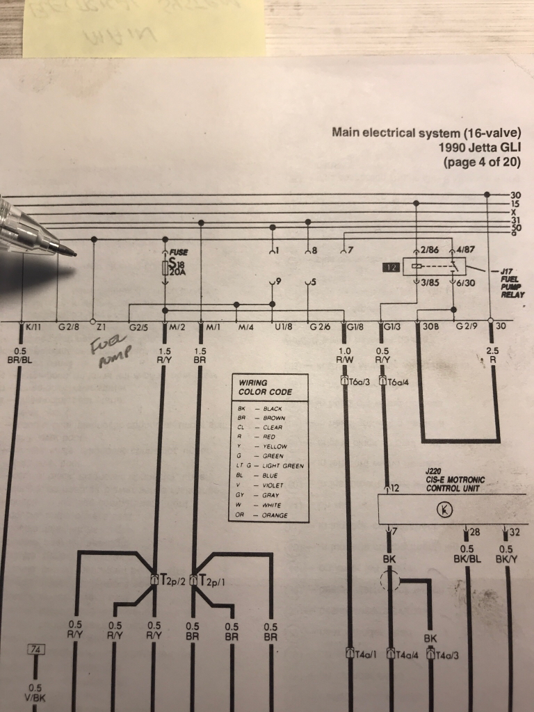 Wiring Diagrams For The B2 Type 85 Audi Coupe Gt And Coupe Quattro