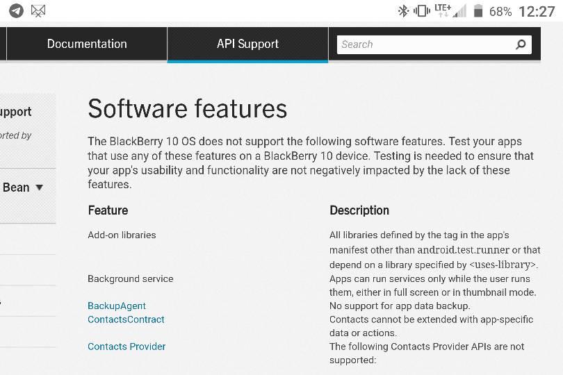 blackberry stop running applications