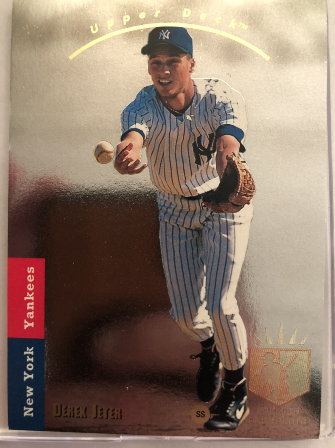Rookie Derek Jeter Ud Sp Grading Question Blowout Cards Forums