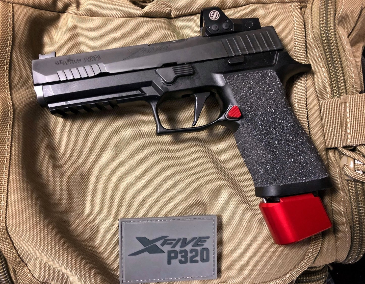 TTI +2 base pads for X5: production legal? - Sig - Brian Enos's