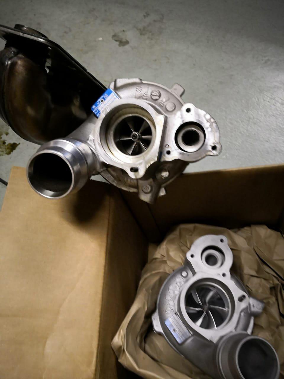 Pure Stage 2 turbo PWG - N55