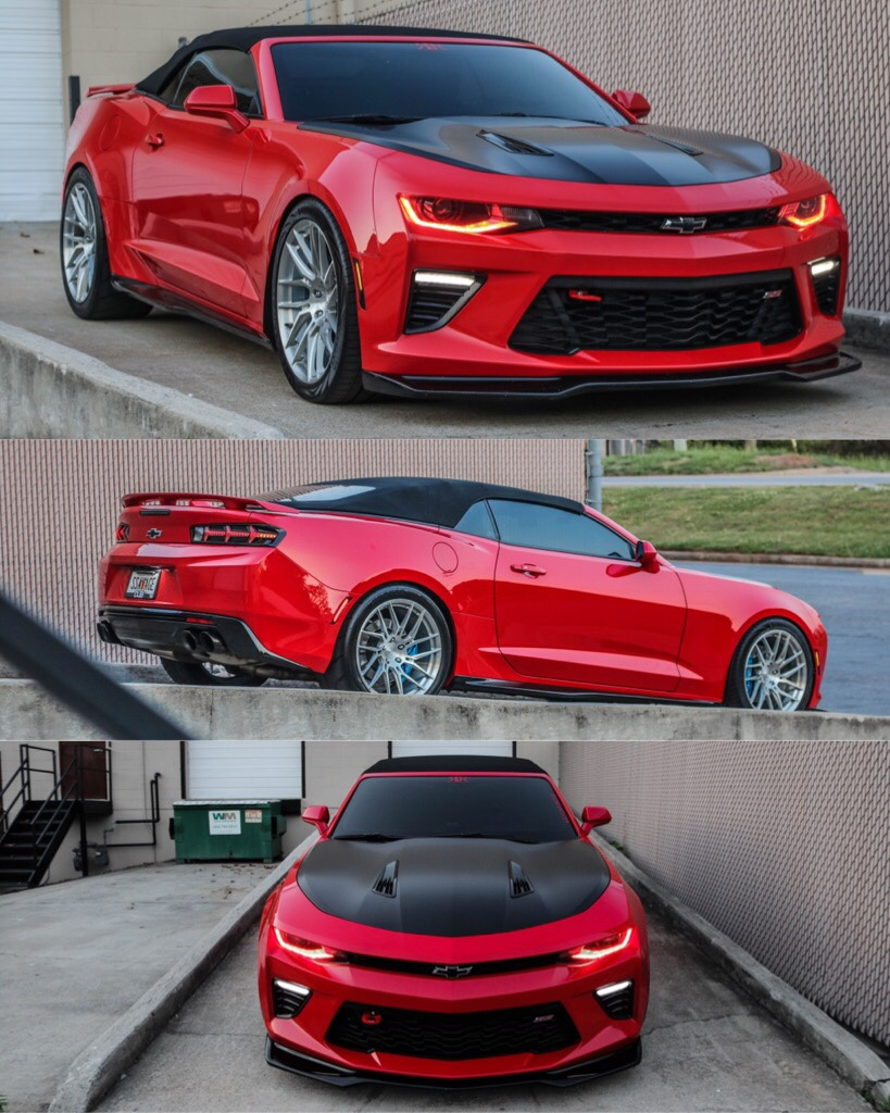 2016 Camaro 1ss Convertible 34k Miles 2017 Sema Build 2018 Wekfest Featured Texas Sd Performance 1 7 8 Long Headers Off Road Cats