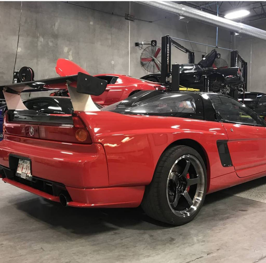 1991 Acura Nsx Aftermarket Diffuser/lower Bumper