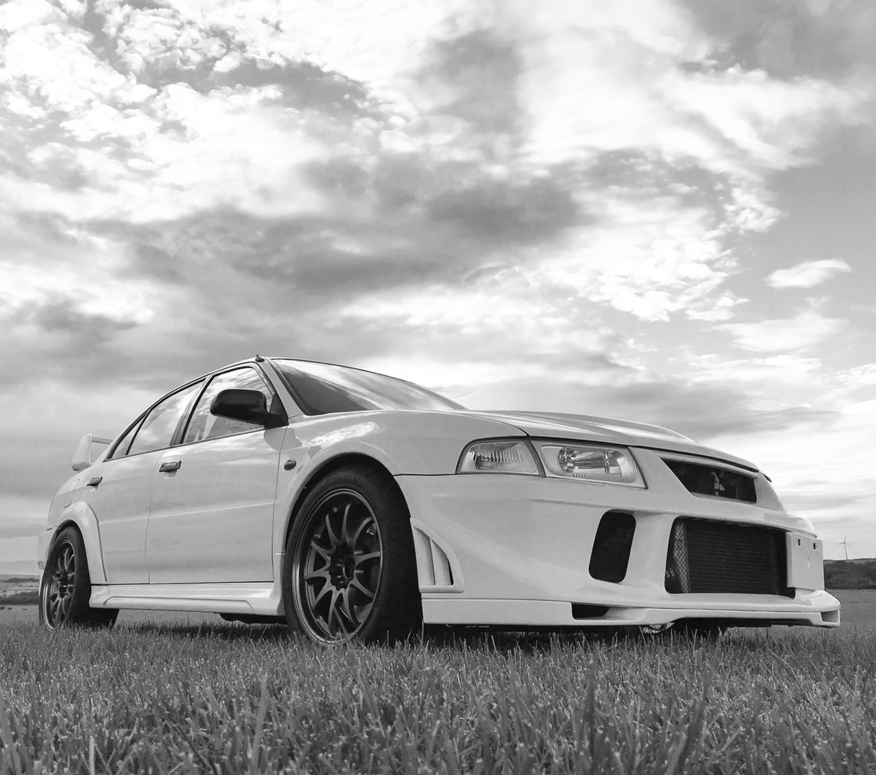 Mitsubishi Lancer Register Forum: Clean Evo 6 Rs On A Nice Day