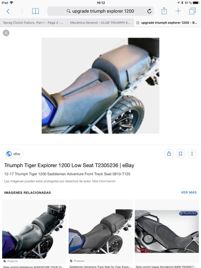 sillín de próstata de motos
