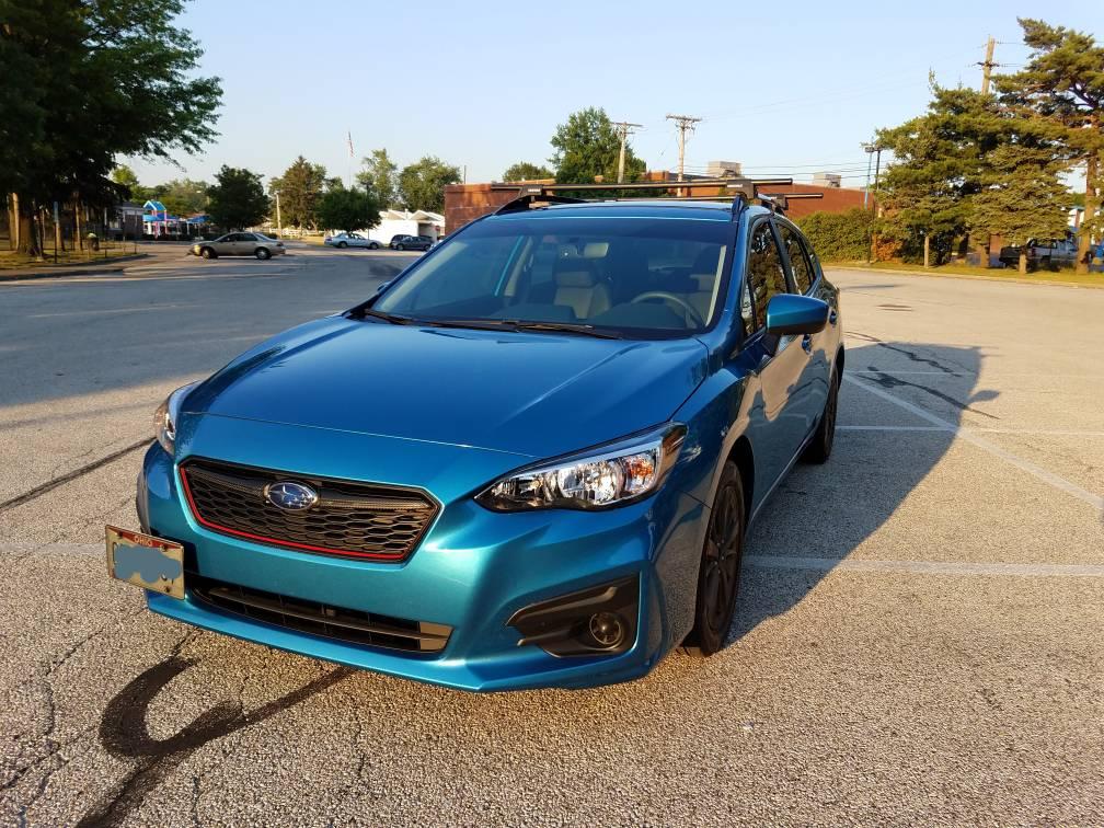 2018 Island Blue Pearl 5th Gen Subaru Impreza Forum