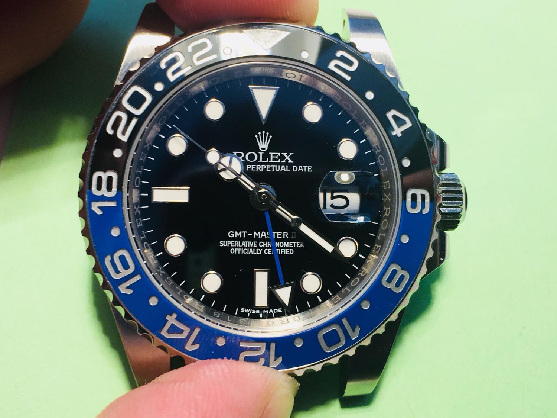 Rolex GMT II Batman Noob v7 - Ρολόγια Replica