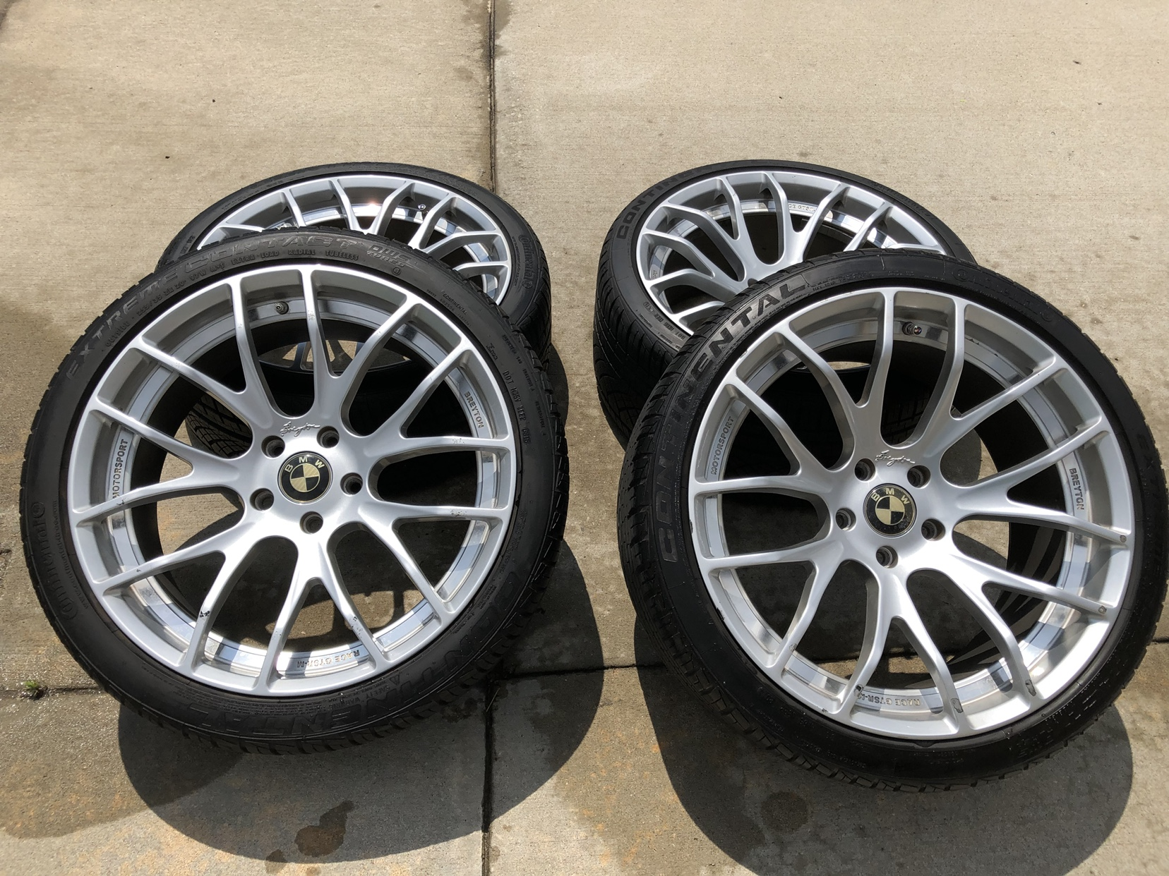 Breyton Wheels and DWS Tires for sale BMW M5 Forum and M6 Forums