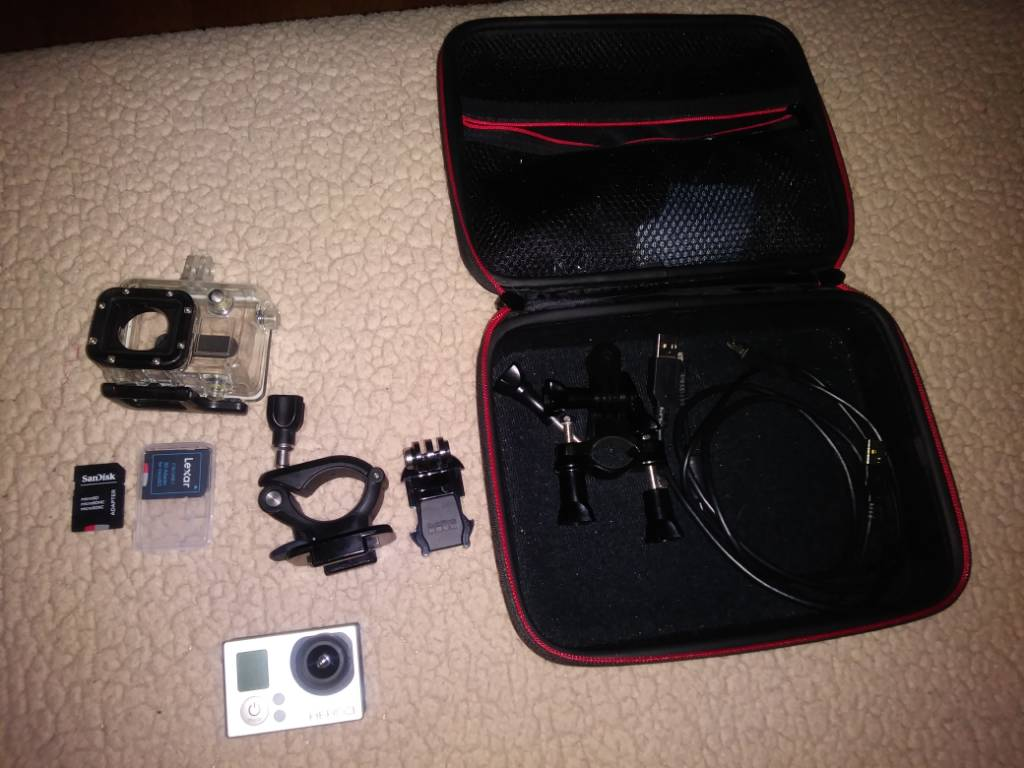 GoPro Hero 3 with 2 SD cards