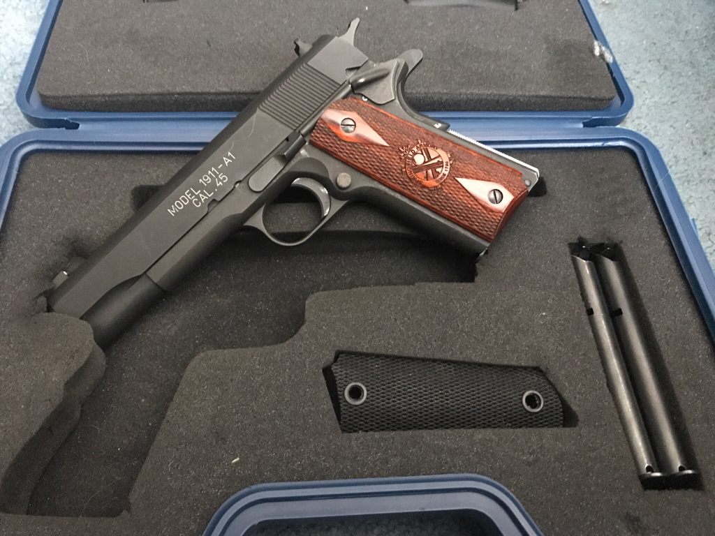 Springfield 1911 Milspec, Ruger LCR, SP101 and More