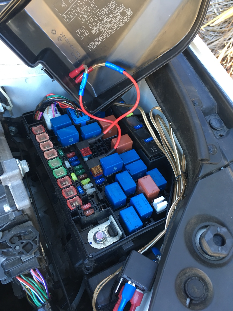 Looking For Switched Fuse Or Wire In Engine Bay My Drls Led Drl Switch Back Wiring