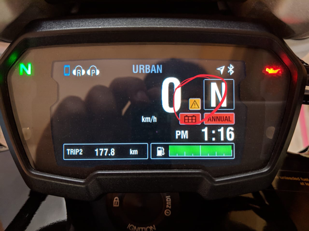 Hands free not working - Ducati Diavel Forum