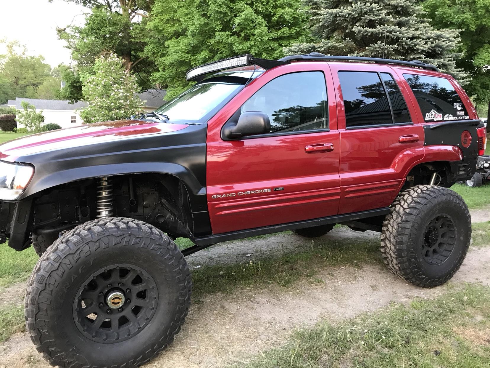 My Red WJ Build. - JeepForum.com