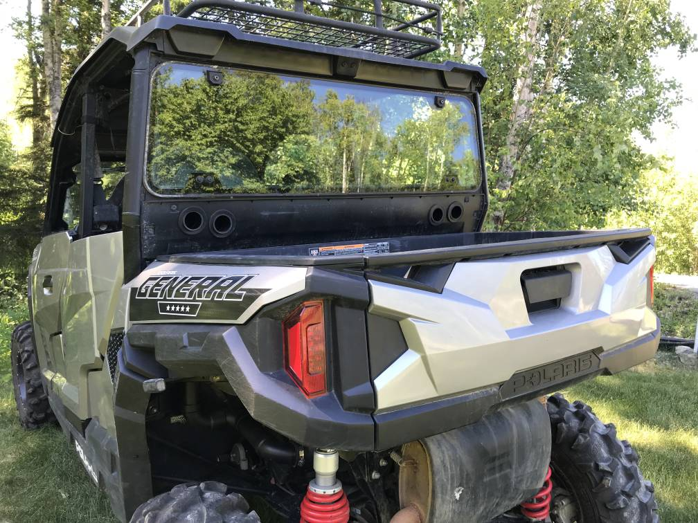 Snorkel with a back window - Polaris General 1000 Forum