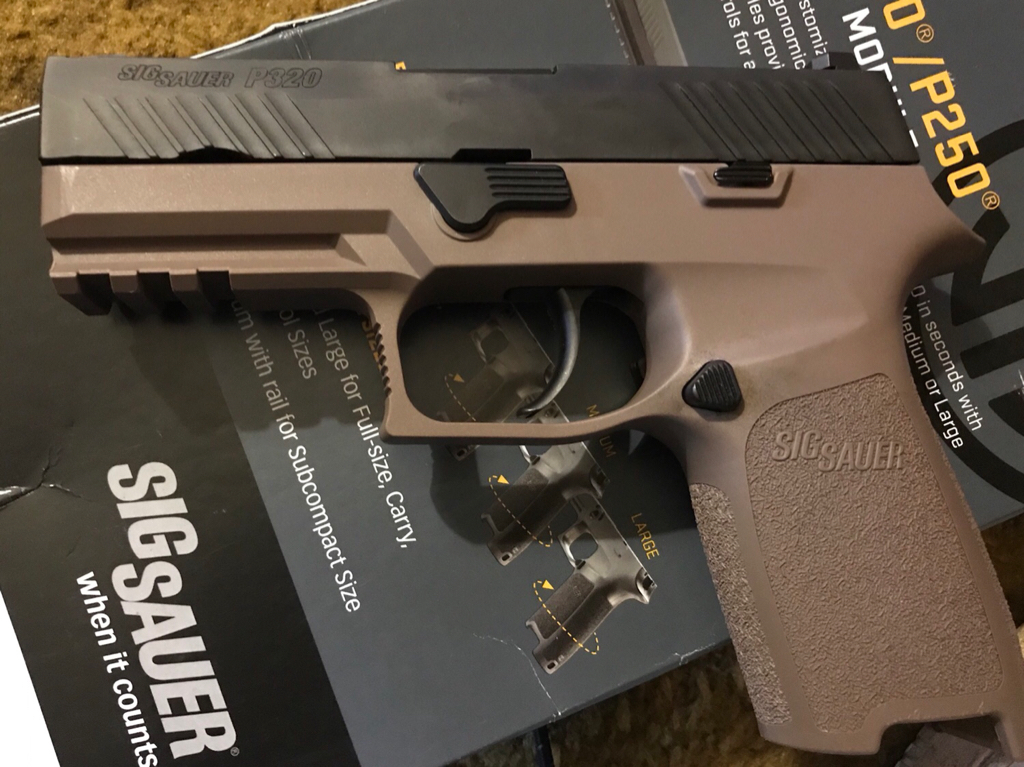 320 FDE Medium Carry Grip Module from Midway Clearance