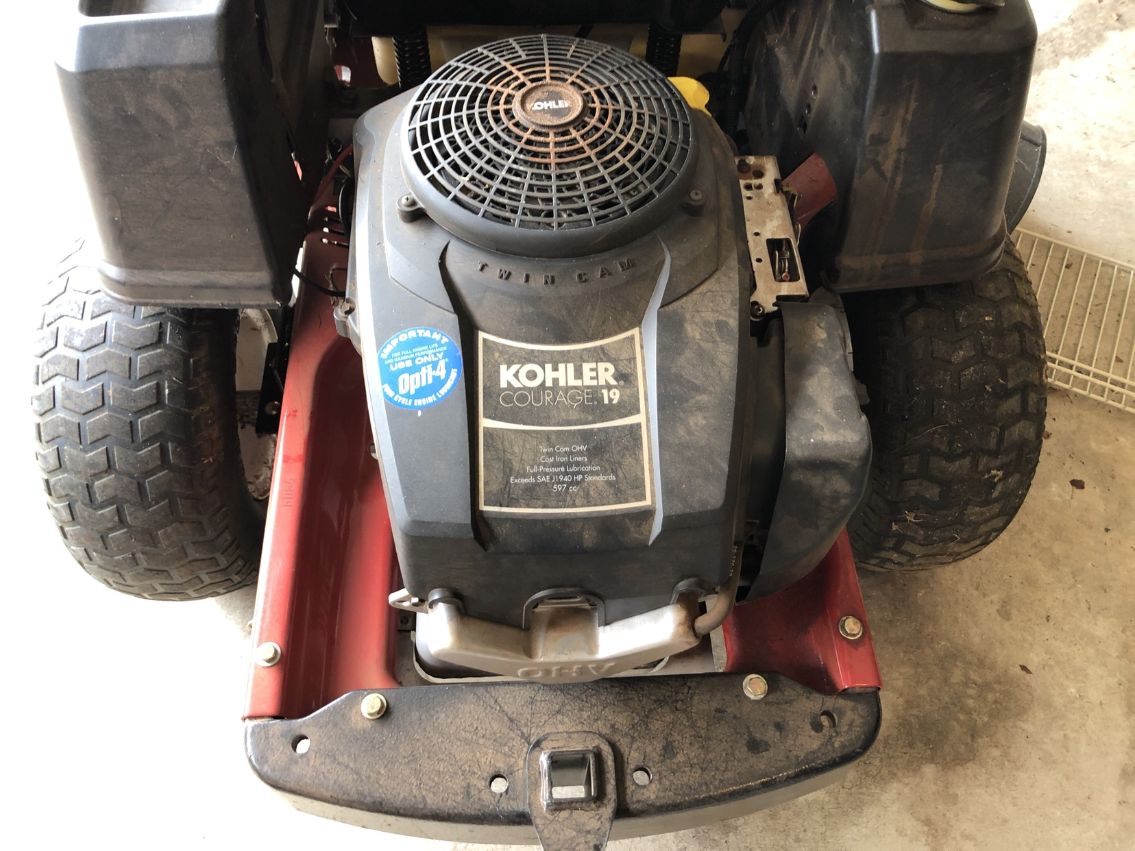 SOLD - Toro Timcutter Z4200 Zero Turn - BAD MOTOR